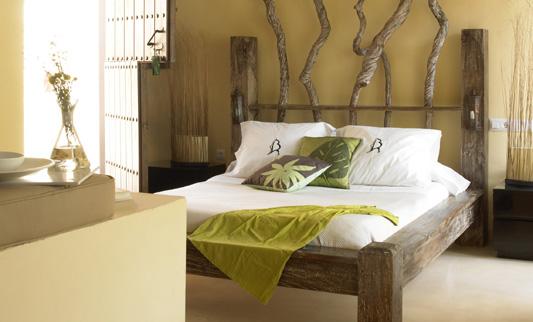 10 consejos para redecorar o decorar tu casa con poco - Cabeceros de madera rusticos ...
