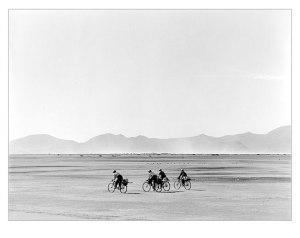 Manuel Alvarez Bravo Bicicletas en domingo 1966
