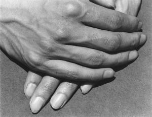 Manuel Alvarez Bravo, Study of Hands, Tamayo, Mexico, 1931.