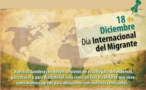 18 de Dic. - Dia Int del migrante